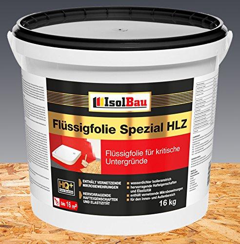 Flüssigfolie Spezial HLZ 16 kg Dichtfolie Abdichtung Balkon Bad Dusche Küche