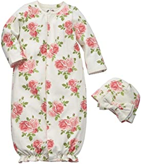 convertible baby gown romper