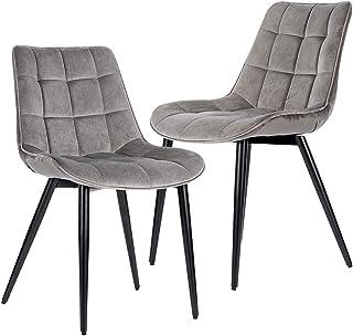 Amazon Com Fabric Velvet Kitchen Dining Room Furniture Furniture Home Kitchen