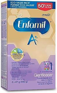 Enfamil A+ Gentlease Infant Formula, Powder Refill, 942g