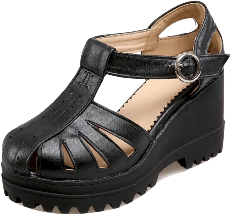CarziCuzin Women Classic Platform Sandals