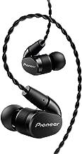 Pioneer Hi-Res in-Ear Ergonomic Tangle Resistant Headphones, Black SE-CH5T(K)