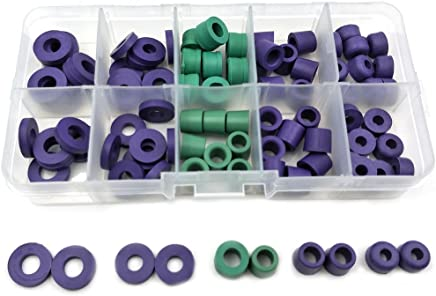 94pcs/Set O-ring Kit R134a Car Air Conditioning Refrigerant Table Pipe Rubber Ring