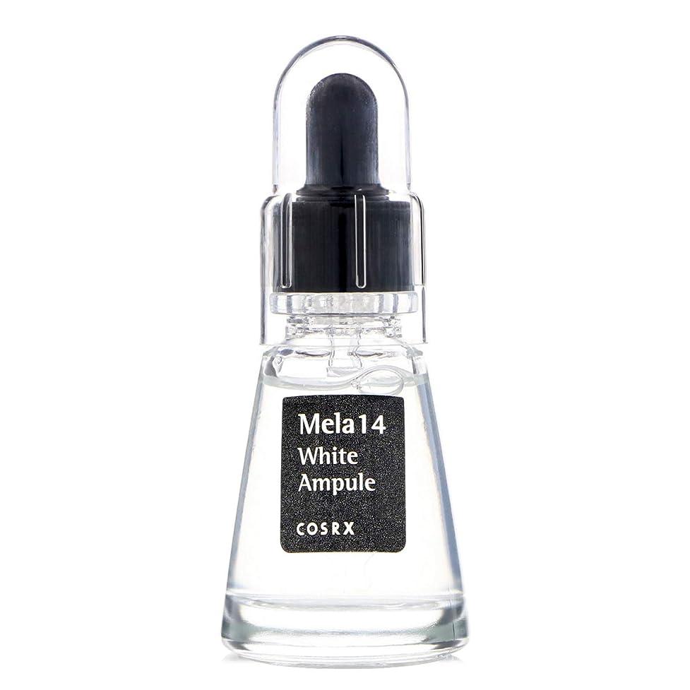 乱用見えるスピン(6 Pack) COSRX Mela 14 White Ampule (並行輸入品)