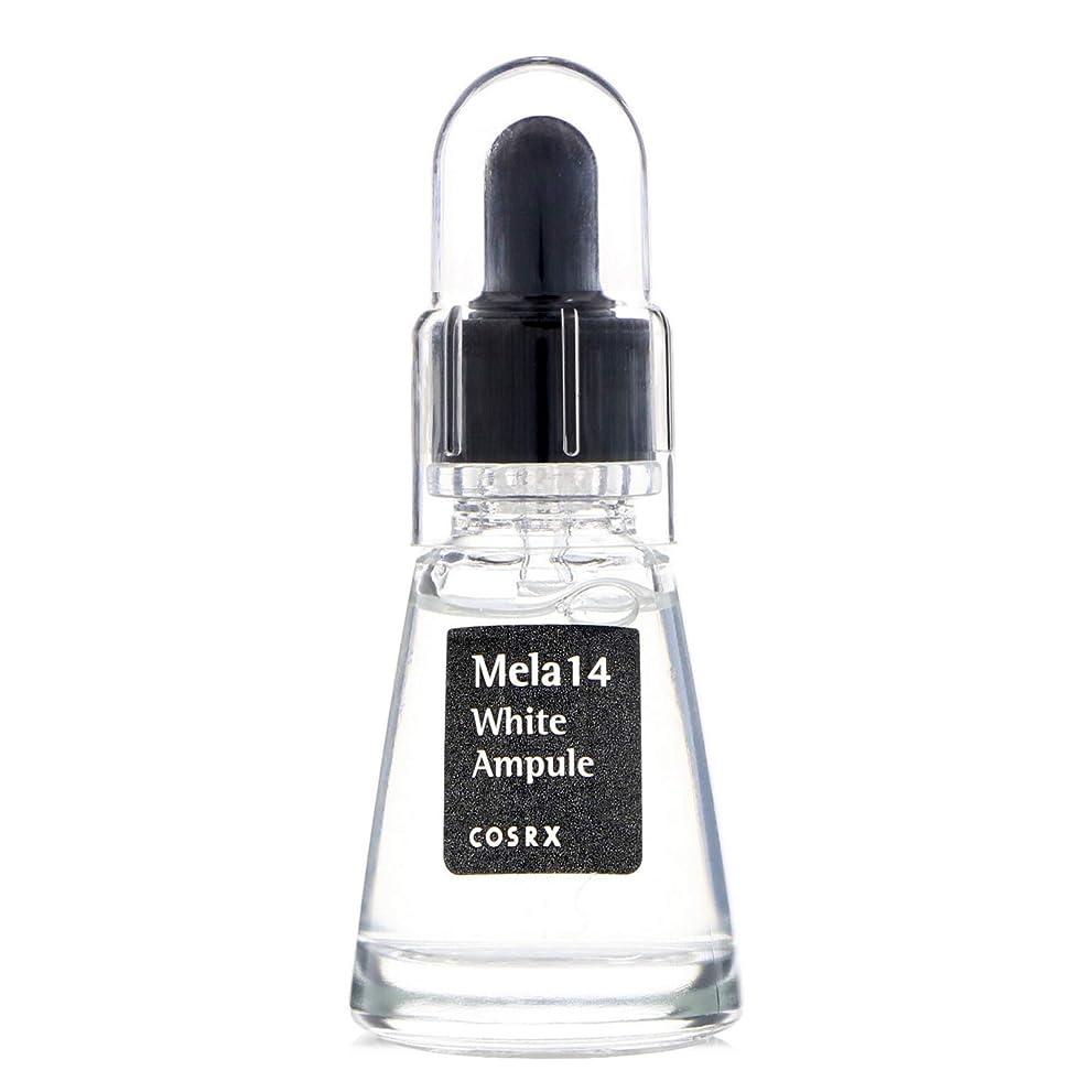 ミュートマトンとまり木(3 Pack) COSRX Mela 14 White Ampule (並行輸入品)