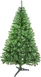 comprar comparacion Árbol de Navidad Artificial Arboles C/Soporte Plástico 120-240cm (Verde Brillo, 150cm 293Tips)