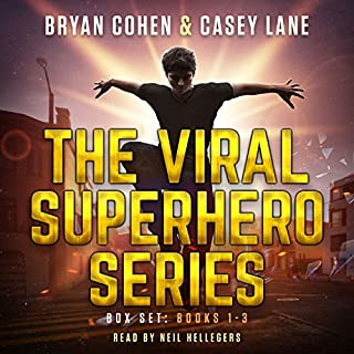 Page de couverture de The Viral Superhero Series Box Set: Books 1-3