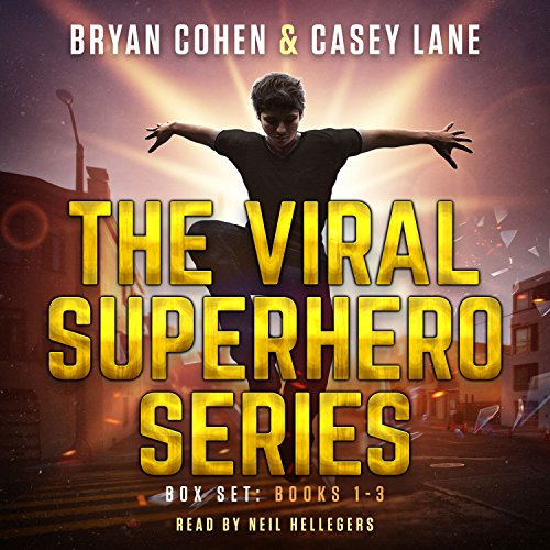 The Viral Superhero Series Box Set: Books 1-3     Viral Superhero Omnibus              By:                                                                                                                                 Bryan Cohen,                                                                                        Casey Lane                               Narrated by:                                                                                                                                 Neil Hellegers                      Length: 21 hrs and 26 mins     69 ratings     Overall 3.8