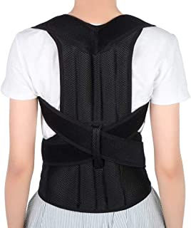 Posture Corrector Belt,Back Support Brace for Men Women and Kids, Adjustable Brace Correction, Back Braces Providing Pain ...