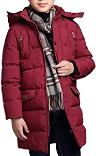 [Nana_Collection(ナナコレクション)] 冬 男子 ジャンパー 中綿 コート 防寒 フード ロゴ ファスナー