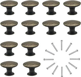 Natuce 12 Piezas Pomos y Tiradores de Muebles 30mm Vintage