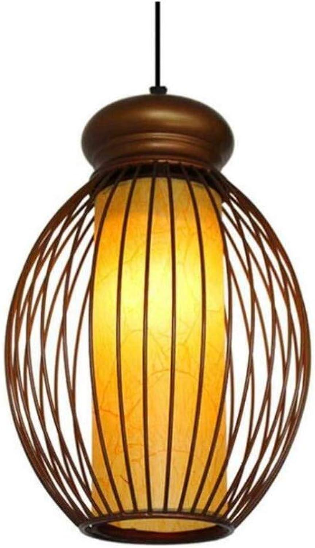 Kronleuchter Deckenleuchte Led-Lichtkronleuchter Kreative Einfache Esszimmer Cafe Rattan Bambus Dekoration Anhnger [Energieklasse A ++]