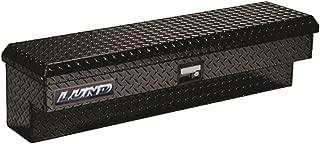 Lund 79748 48-Inch Aluminum Side Mount Box, Diamond Plated, Black