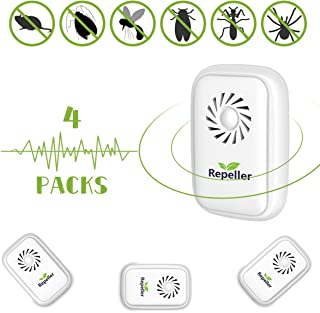 comprar comparacion Repelente Ultrasónico Mosquitos,Control de Plagas para Las Ratas y Ratones,Cucarachas,Mosquitos,Moscas,Hormigas,Arañas,Ins...