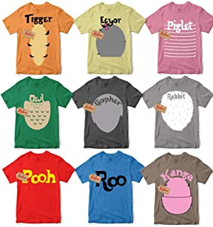 Character Halloween T-Shirt Character Halloween Costumes For Family Group Unisex T-shirt - Premium T-shirt - Hoodie - Sweater - Long Sleeve - Tank Top