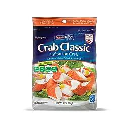 Trans-Ocean Products, Crab Classic Flake, 8 oz