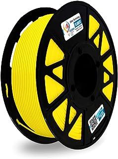 3Idea Premium PLA 1.75mm 3D Printer Filament, Dimensional Accuracy +/- 0.03mm (Yellow, 1 kg)