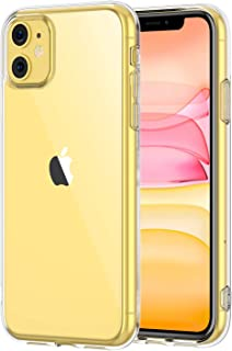 STOON for iPhone 11 Case, Anti-Scratch Shock-Absorption Crystal Clear Phone Cover Case for iPhone 11, 6.1 inch, 2019