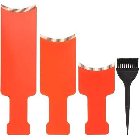4 PCS Juego de Tinte para el Cabello, Anself Kit de Tinte de Mezcla de Color de Cabello, Juego de Tinte para el Cabello de Peluquería, Paleta para ...