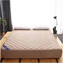 Queen Mattress Pad Mattress Cover with Breathable Cotton Inner Core Deep Pocket Mattress Protector Quilted Fitted Mattress...