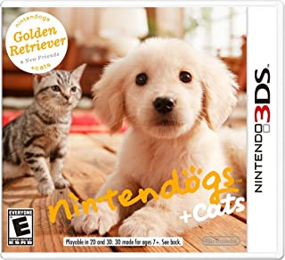 Nintendogs Plus Cats: Golden Retriever and New Friends by Nintendo (2011) - Nintendo 3DS