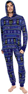 Exterminate Adult Navy One Piece Pajama Onesie Jumpsuit
