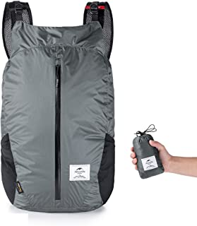 Naturehike Foldable Backpack 25L Cordura Fabric Lightweight Waterproof Hiking Backpack Outdooor Travel Sport Bags