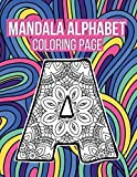 Mandala Alphabet Coloring Page: Adult Coloring Books Mandala Perforated | Mandala Alphabet Coloring Book | Mandala Alphabet 26 Letters Mold | Mandala ... Mandala Alphabet Mold Gift For Kids & Girls