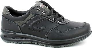 Grisport - Sneaker in Pelle Nero in Gritex - 40