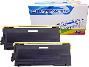 Inktoneram Compatible Toner Cartridges Replacement for Brother TN350 TN-350 DCP-7020 IntelliFax 2820 2910 2920 MFC-7220 MFC-7225N MFC-7820N MFC-7420 HL-2030 HL-2040 HL-2070N (Black, 2-Pack)