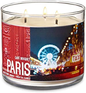 Bath & Body Works 3-Wick Scented Candle in Cafe Bouquet Paris