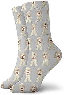 Dydan Tne, Niños Niñas Locos Divertidos Goldendoodle Perros Calcetines Lindos del Vestido de la Novedad