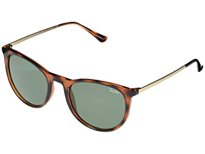 QUAY AUSTRALIA Great Escape (Tort/Green) Fashion Sunglasses