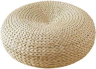 天然蒲座禅クッション ヨガ用クッション 手作り 丸型 おしゃれ ヨガマット 坐布/座蒲/坐蒲 自然素材 坐禅用の布団