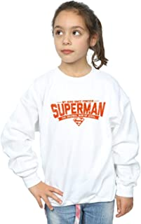 DC Comics Girls Superman My Hero Sweatshirt