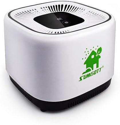 sumgott 空気清浄機 殺菌 静音 風量切替 HEPAフィルター搭載 花粉/PM2.5/生活臭/ホコリなど微粒99.9% 除去 6畳適用