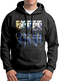 Edgechic Once Upon A Time Mens Pullover Black Hoody