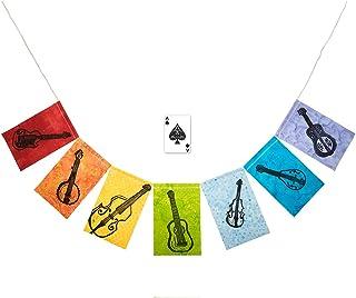 Trek Light Gear Modern Prayer Flags - Handmade - Indoor or Outdoor - Unique Camping, Hiking, Hammock, Rock Climbing, Van Life & Inspirational Designs {BLUEGRASS}