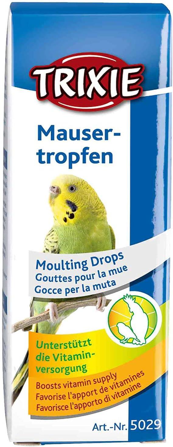 TRIXIE Gotas para la Muda para Pájaros