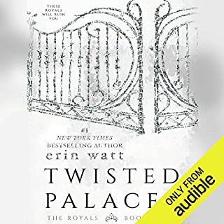 Twisted Palace audiobook cover art