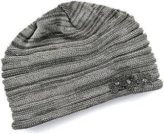 【抗がん剤治療】【医療用帽子】【ケア帽子】 宇野千代デザイン 室内帽子フード:ブラックグレー