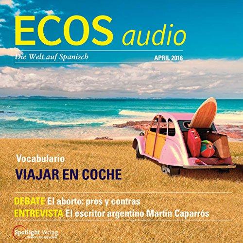 ECOS Audio - Viajar en coche. 4/2016 Titelbild