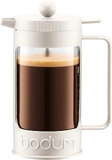【正規品】 BODUM ボダム BEAN ビーン フレンチプレスコーヒーメーカー 1000ml 11376-913 オフホワイト