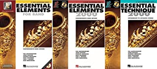 Essential Elements for Band - Eb Alto Saxophone, Books 1-3, On Line Audio
