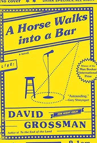 Image of A Horse Walks into a Bar: A novel