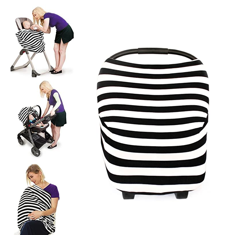 Kyapoo Nursing Cover Breastfeeding Cover Scarf Muti-Use for Baby Car Seat Cover Canopy