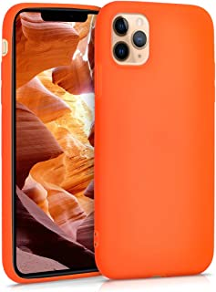kwmobile Hülle kompatibel mit Apple iPhone 11 Pro Max   Handyhülle   Handy Case in Neon Orange