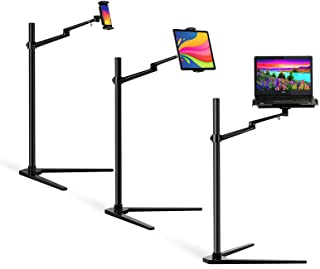 MagicHold 3 in 1 360º Rotating Height Adjusting Laptop Stand/Compatible with IPAD IPAD PRO/Tablet Bed Floor Stand for Lapt...