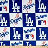 Fabric Traditions MLB Los Angeles Dodgers Fleece, Yard, Multi