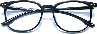 Retro Square Blue Light Blocking Computer Glasses Men Women TR90 Eyewear Frame Anti Eye Eyestrain Reading Gaming Glasses N...